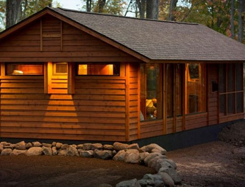 Avantajele cabanelor din lemn