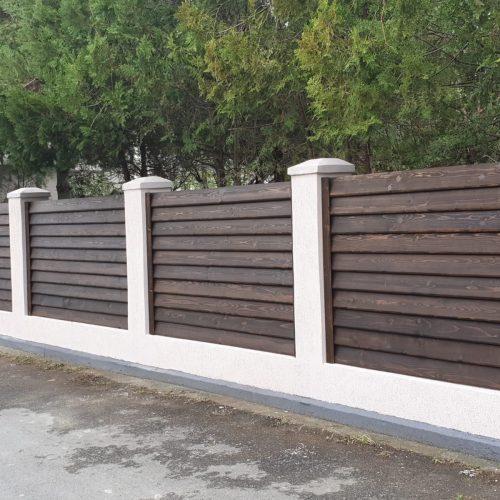 Producător De Garduri Din Lemn La Comandă Asigurăm Montaj