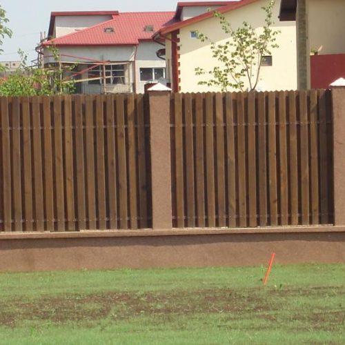 Gard din lemn 0001